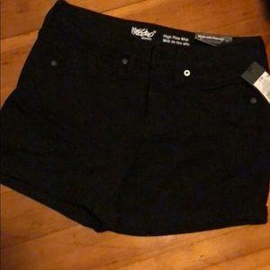 Missimo High Rise Black Shorts - NWT